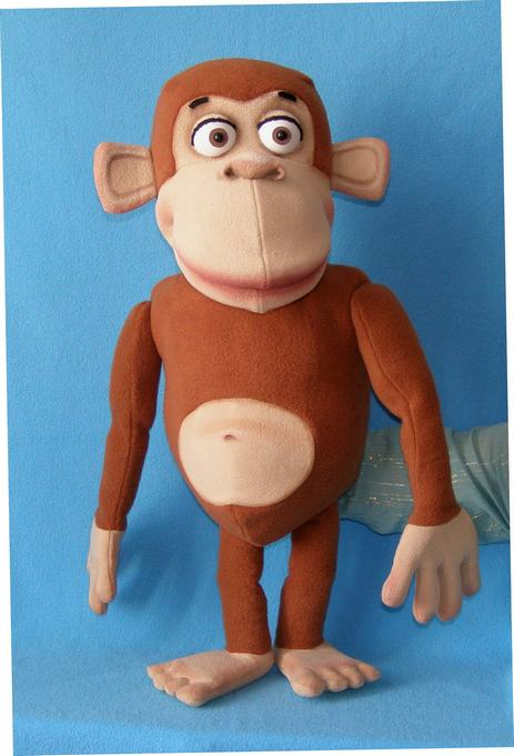 clem the monkey puppet puppet for sale