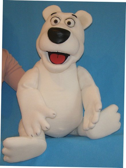 Ed The Polar Bear Puppet