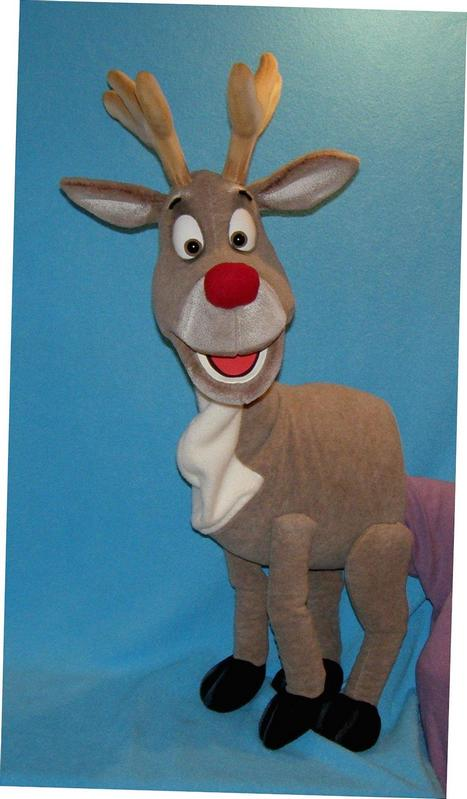 deer puppet  pavlovs puppet   for sale
