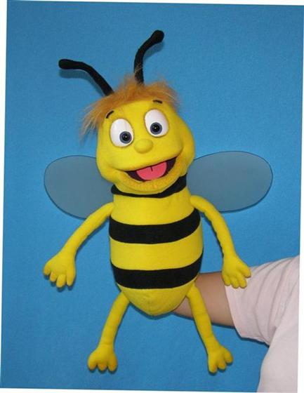 bee finger puppet template - pavlovs puppets bee puppet puppet for sale