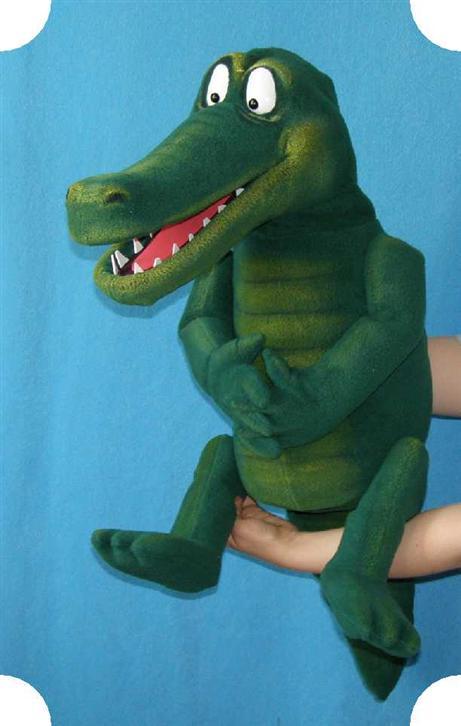 Crocodile puppet. Pavlovs puppet. (for sale)